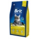 Brit premium 1,5kg cat Adult salmon