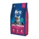 Brit premium 1,5kg cat Adult kuře