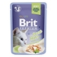 Brit premium 85g cat kaps.filety se pstruhem v želé 1ks/24ks