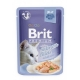Brit premium 85g cat kaps.filety s lososem v želé 1ks/24ks