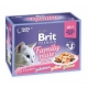 Brit prem.12x85g cat Jelly kaps.filety s kuř,los,hov,pstr,želé